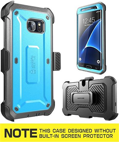Galaxy S7 Edge Case, Full-Body Rugged Holster Case with Without Screen Protector